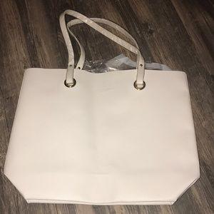 New! Ralph Lauren White purse bag